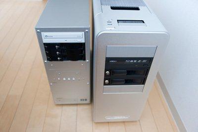 新旧PCケース比較