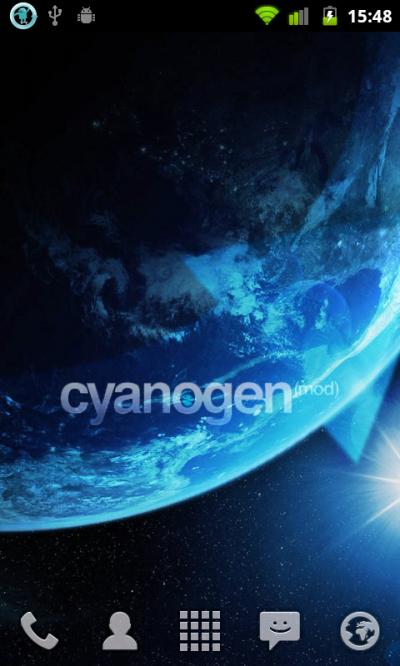 cyanogen(mod)の壁紙は美しい